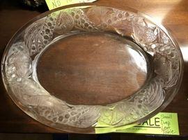 Decorative Platter - Lalique