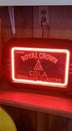 1940's Royal Crown neon sign