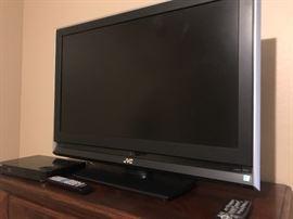 Flat screen JCV TV