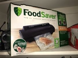 Food Saver vacuum sealer, still in box