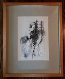 Original signed lithograph