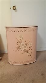 pink old school hamper metal