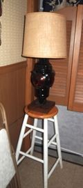 We have 3 of these cool railroad lamps!