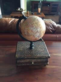 Globe Trinket Box.