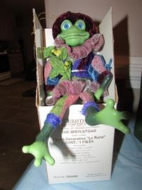 """""""Mistletoad"""", I'm just sitting around waiting on somebody to buy me for their home or for someone special!!!"""