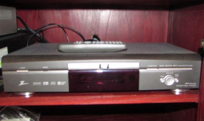Zenith CD/DVD PLAYER MP3 Decoder #DVD2201
