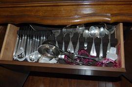 silver plate silver set