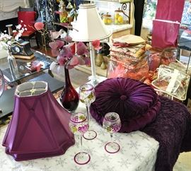 Just beautiful violet pieces
