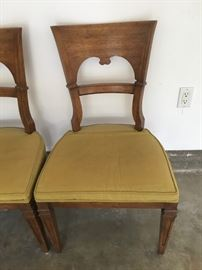 Drexel Heritage side chair that accompanies the dining table