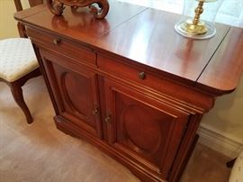 Beautiful Bar Buffet Cabinet with fold outs