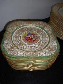 12 - Royal Worcester Salad Plates