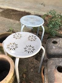 Cute garden tables