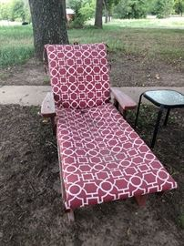 Great redwood patio set