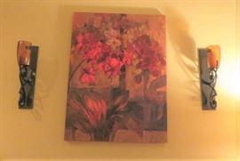 Mary Nunn Canvas Print, Candle Wall Sconce