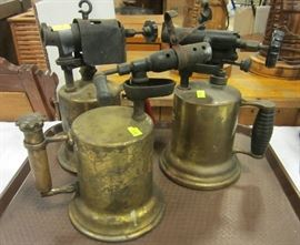 Antique gas blow torches