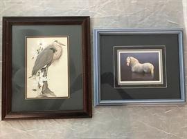 ART LAMAY PRINT, HORSE PRINT