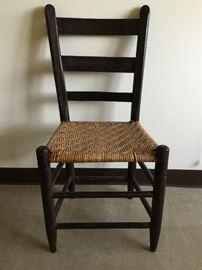 Black Chair with Cane Seat https://ctbids.com/#!/description/share/38007