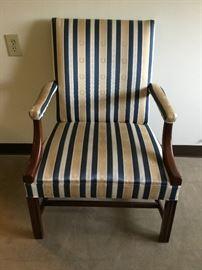 Upholstered Arm Chair https://ctbids.com/#!/description/share/38008