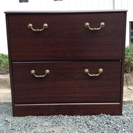Hanging File Cabinet with 2 Drawers  https://ctbids.com/#!/description/share/38018