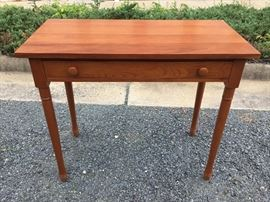 Wood Desk, made by E.A. Clore Sons, Inc.         https://ctbids.com/#!/description/share/38023