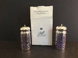 Royal Sapphire Collection Salt/Pepper Set https://ctbids.com/#!/description/share/38065