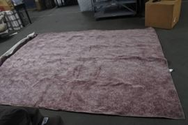 Antique Pink Rose Rug