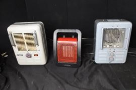 3 Space Heaters