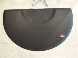 Black Fatigue Mat