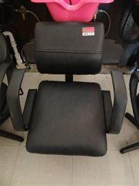 Black Salon Chair for Shampooing Hair5