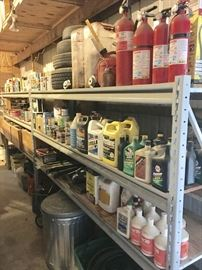 PAINT, OIL, ANTIFREEZE AND MORE.