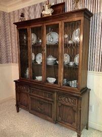Vintage china cabinet.