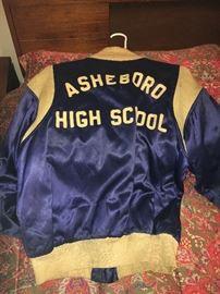1960s letterman jacket.