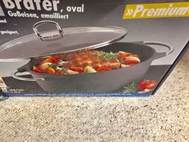 New in box cookware