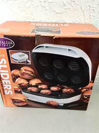 New in box slider grill