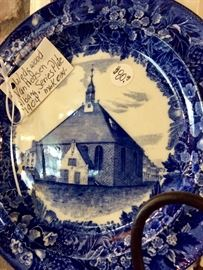 Nice vintage and antique plates