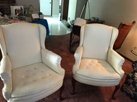wing chairs also available but not shown here