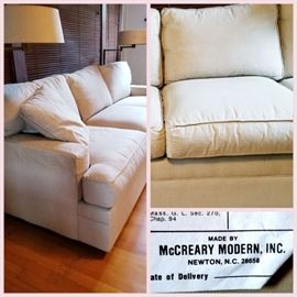 Linen upholstery