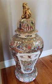 Large Asian Ginger Jar