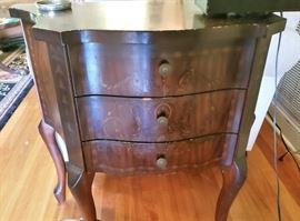 Two Vintage Side tables