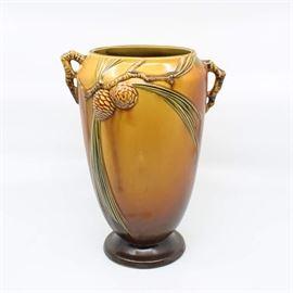 "Roseville ""Pine Cone"" Vase - 709-10"""