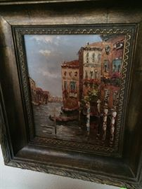 Original oil artwork