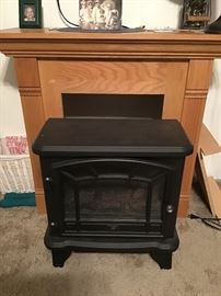 Electric Fireplace Stove with heater