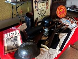 Antique/Vintage Military Items--100s of PICTURES TO FOLLOW!