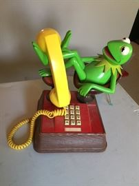 Kermit the Frog Telephone.