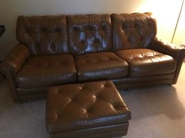 . . . here is the couch and ottoman -- very good condition.