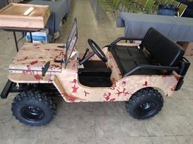 125 cc Mini  Golf Cart Style UTV