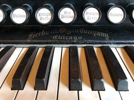 Beckwith Organ Company-Chicago antique pump organ