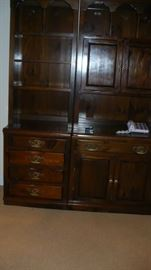 VERY CLEAN 2 PC. CABINET
