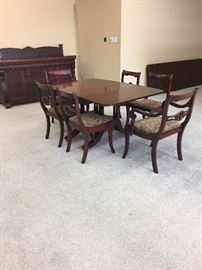 Dinning table w/6 chairs