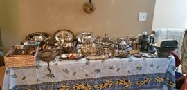 Lots of silver/silverplate